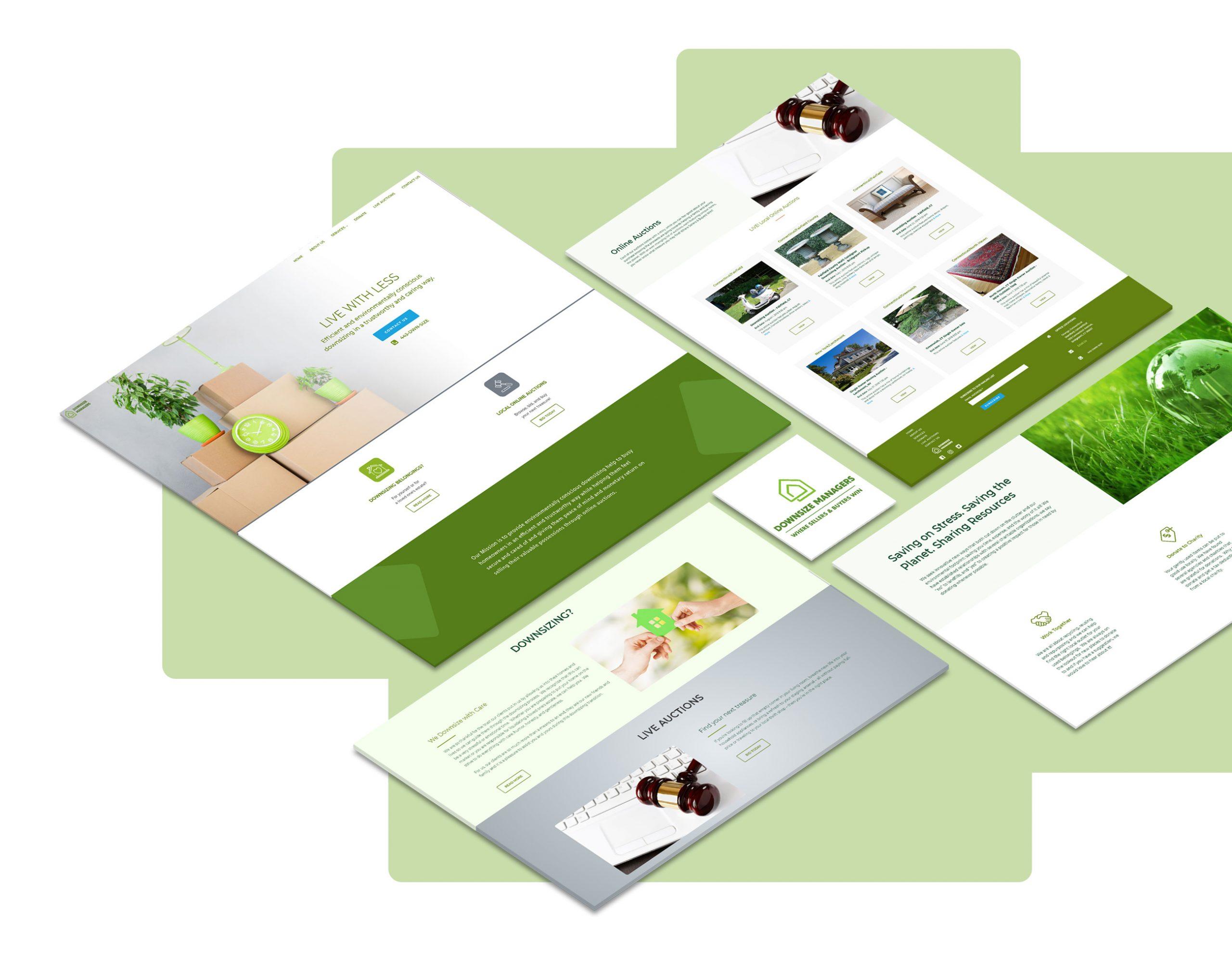 envisioner studio web Ui design