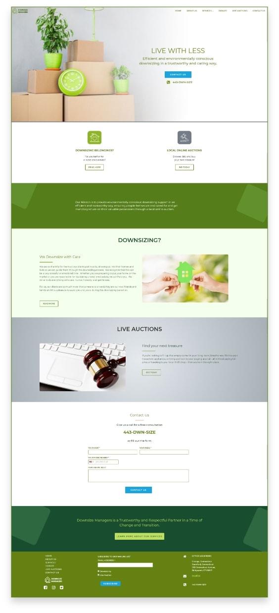 envisioner studio web Ui design 01