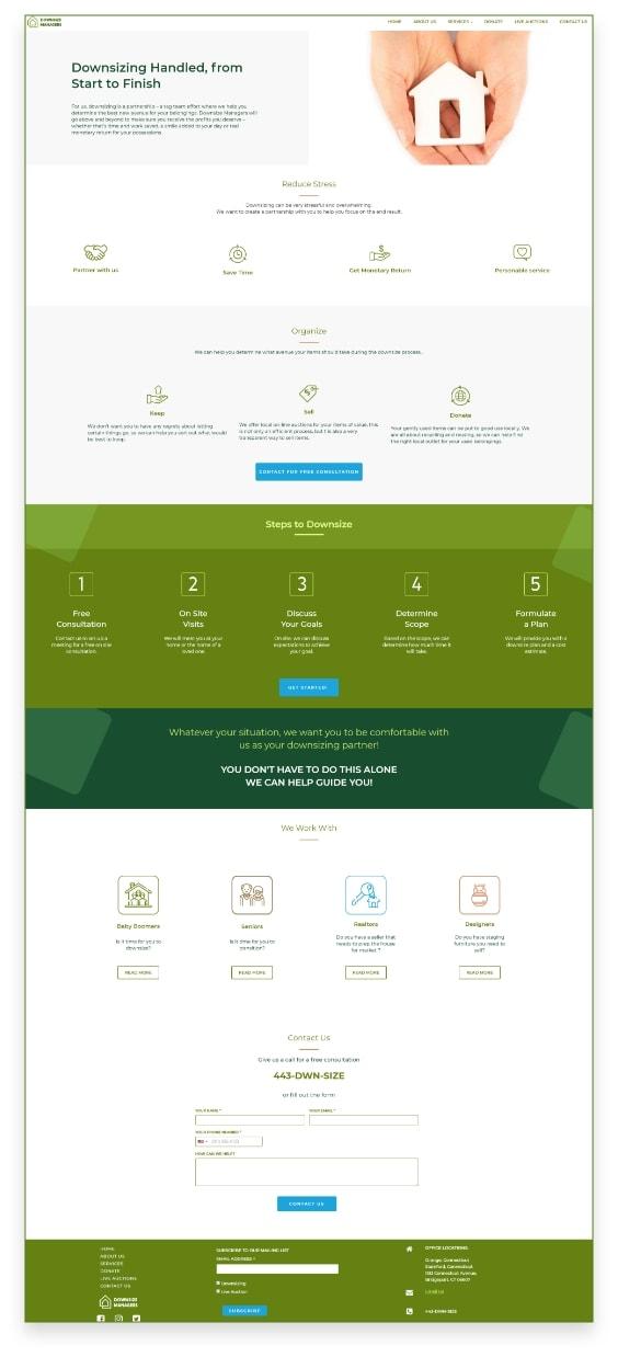 envisioner studio web Ui design 02