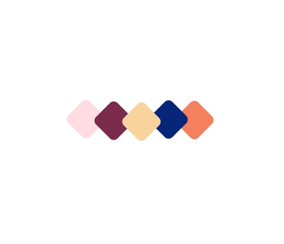 Feneaux brand colors
